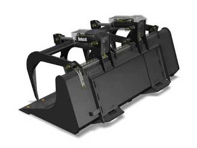 Skid steer attachments rentals in the DFW Metro Area