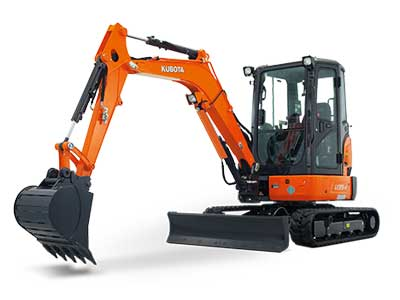 Excavator rentals in the DFW Metro Area