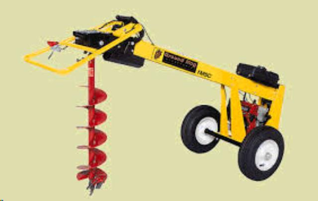 Where to find TOWABLE HYDRAULIC AUGER in Dallas