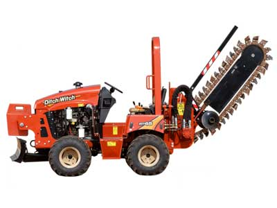 Trencher rentals in the DFW Metro Area